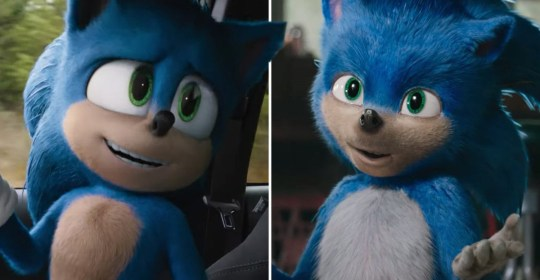 The new and newer Sonic