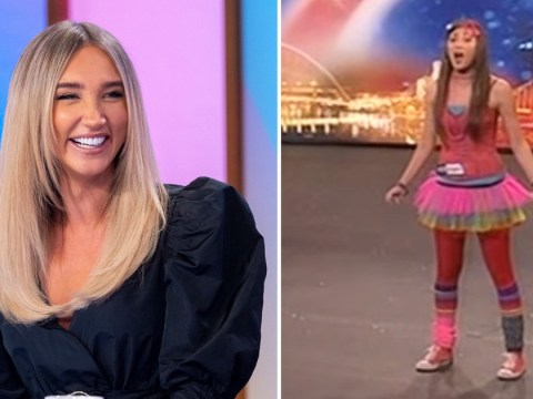 Megan McKenna cringes at her outfit as she watches Britain's Got Talent audition back 10 years later