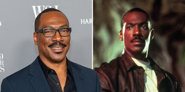 Eddie Murphy and Beverly Hills Cop
