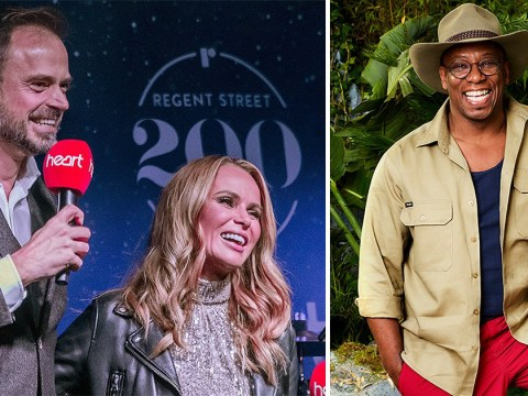 Amanda Holden and Jamie Theakston want Ian Wright to win I'm A Celebrity and Caitlyn Jenner to be 'mother figure' of the camp