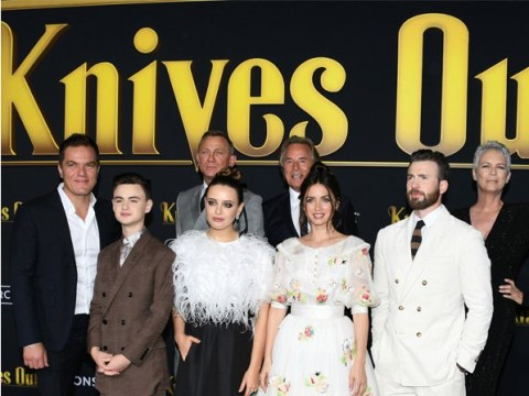 Daniel Craig, Chris Evans and Ana de Armas among stars turning it out at the Knives Out premiere