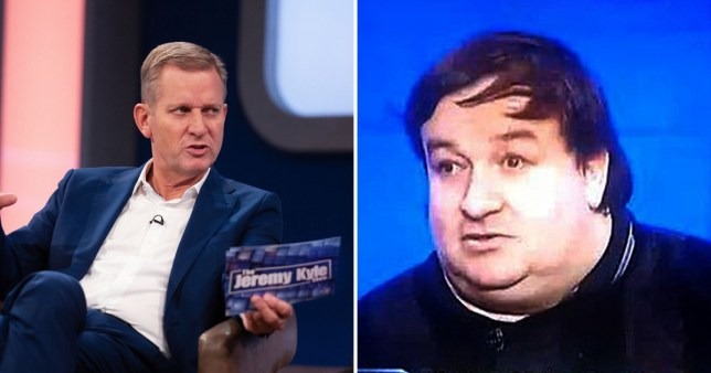 Jeremy Kyle and Stephen Beer