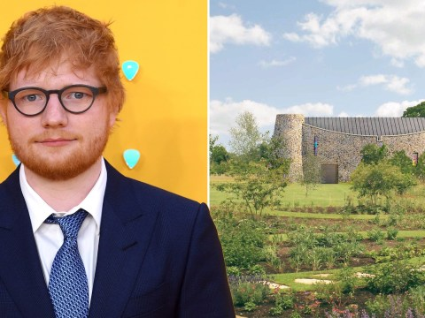 Ed Sheeran given permission to build 'boat-shaped prayer retreat' to provide 'calm and separation'