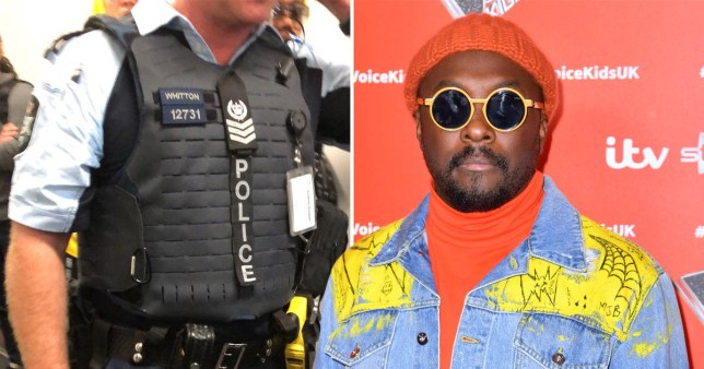 will.i.am racist flight attendant