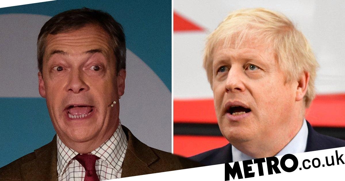 Police 'assessing' claims Tories offered Brexit Party figures peerages