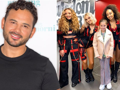 Coronation Street's Ryan Thomas shares adorable video of daughter meeting Little Mix