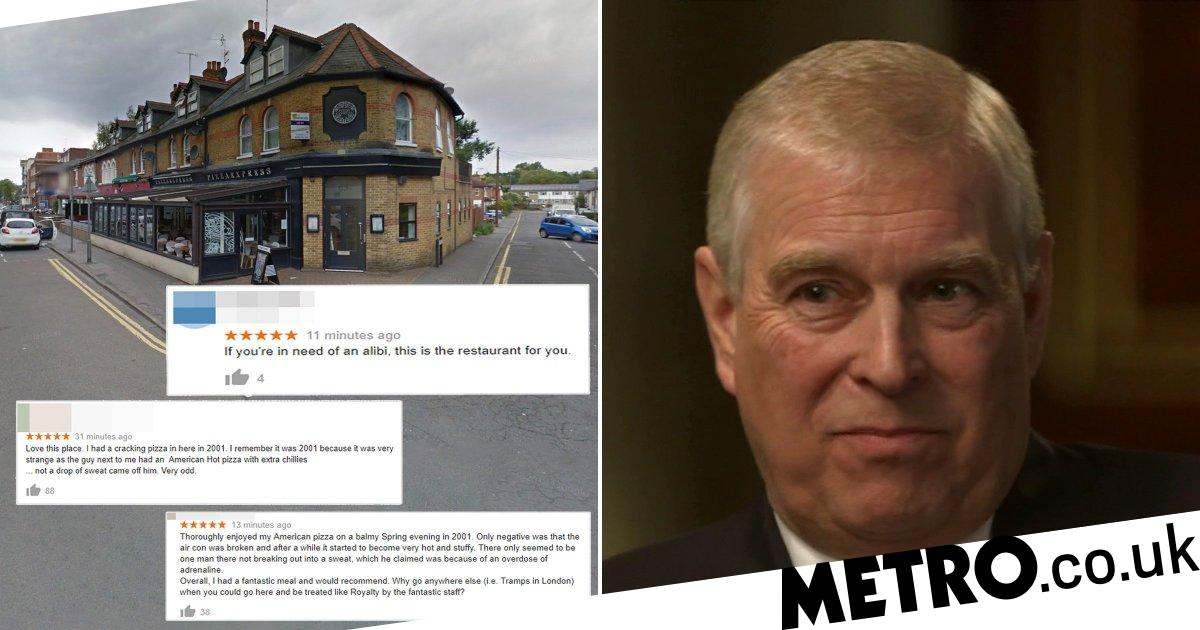 Wokings Pizza Express Flooded With Reviews After Prince