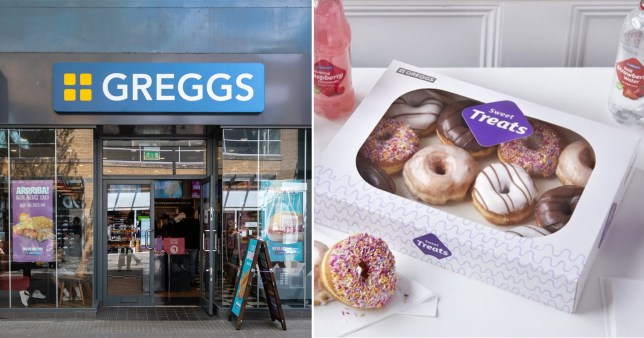Greggs have been accused of food shaming customers for the second time in a week (Picture: Getty)