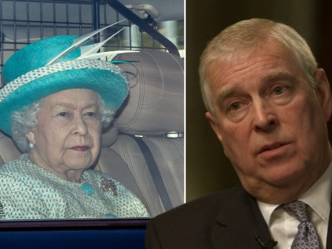 Queen Elizabeth looks stony-faced as Prince Andrew stands by 'car crash' interview