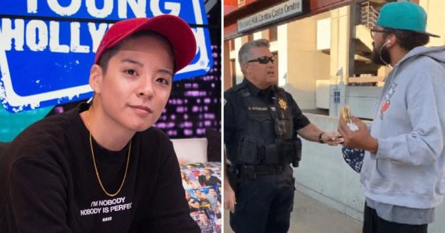 Amber Liu black man arrest