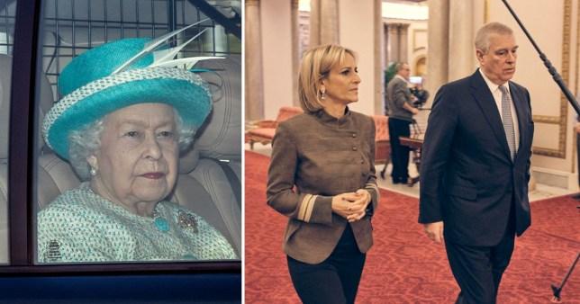 Emily Maitlis said Prince Andrew / Queen Elizabeth II
