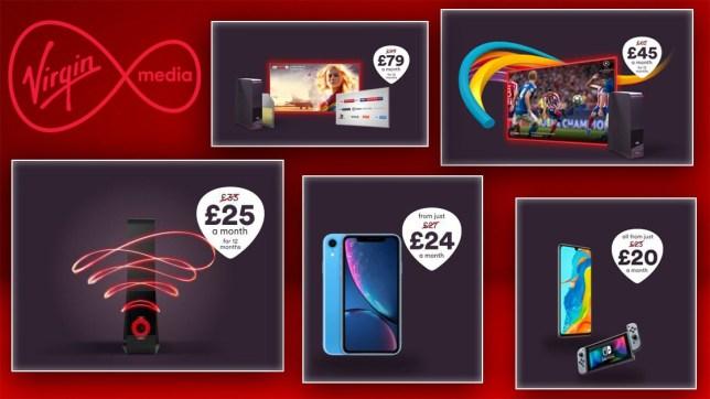 Virgin Media Black Friday deals