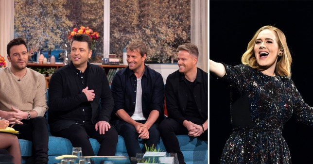 Westlife would love a duet with Adele
