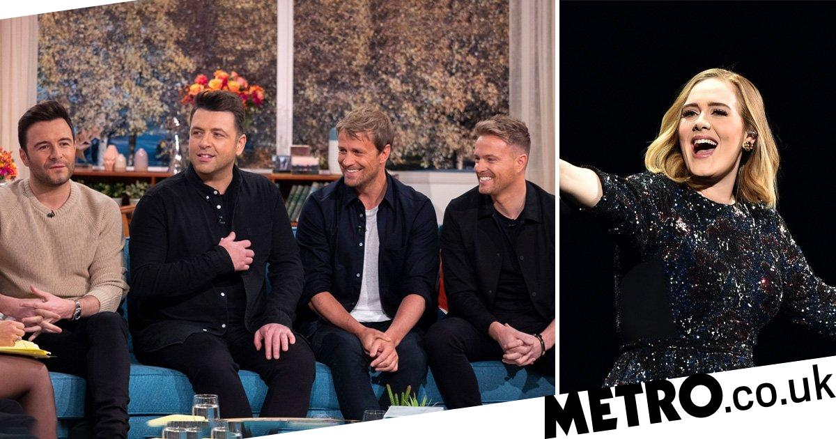 Westlife want a duet with Adele - Metro.co.uk
