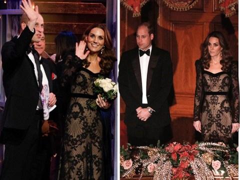 Duke and Duchess of Cambridge enjoy glamorous night at Royal Variety Performance