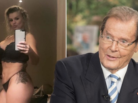 Kerry Katona actually asked the real Sir Roger Moore if she could be his Bond girl and his response was brilliant