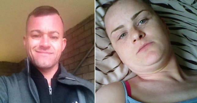 Clare McMahon, 35, admits stabbing her boyfriend John Robinson, 37, up to 30 times (Picture: Cavendish)