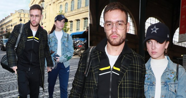 Liam Payne and Maya Henry in Paris