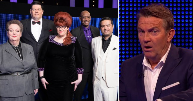 Bradley Walsh and The Chasers from The Chase