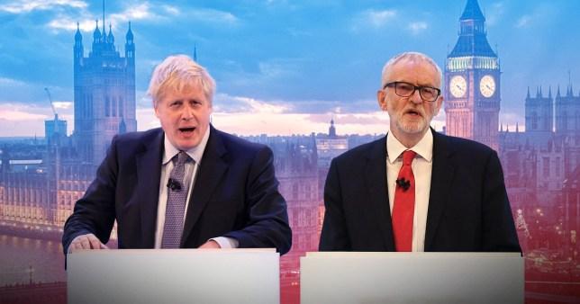 Boris Johnson and Jeremy Corbyn will go head-to-head tonight