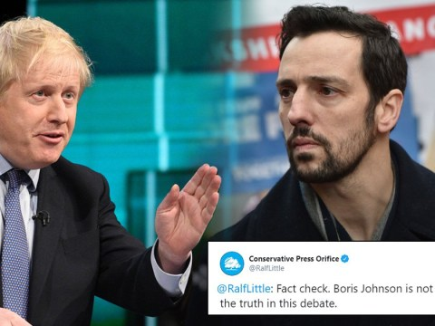 Ralf Little suspended from Twitter for pretending to be Tory party press orifice