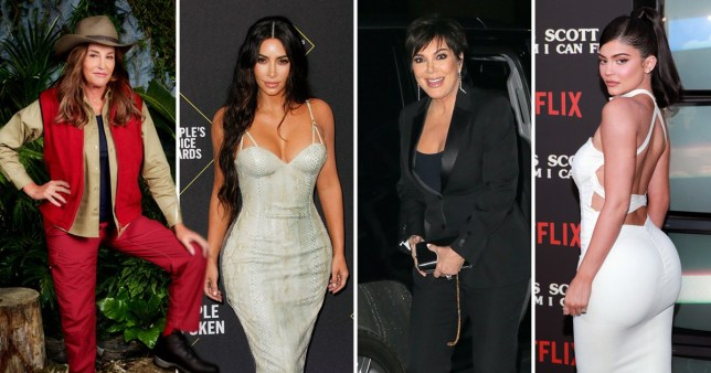 caitlyn jenner, kim Kardashian, kris Kardashian and kylie jenner
