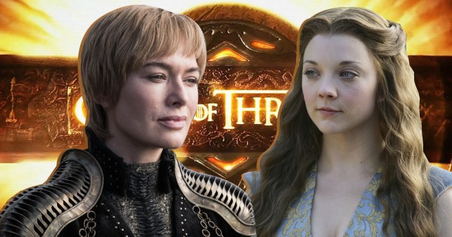 Cersei Lannister and Margaery Tyrell in Game of Thrones