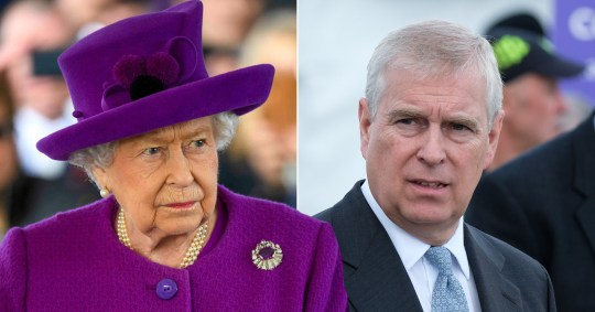 Prince Andrew is stepping back from public duties over the Jeffrey Epstein scandal (Picture: Rex; Getty)