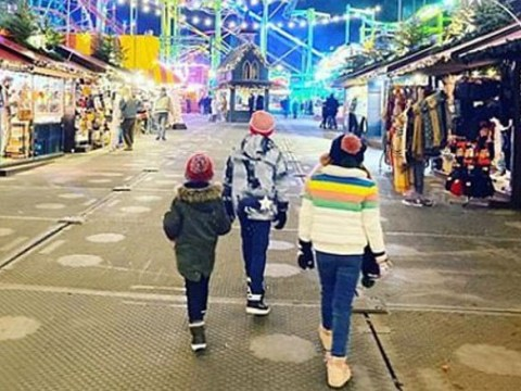 Holly Willoughby shares rare picture of her kids as they enjoy 'dreamy night' at Winter Wonderland