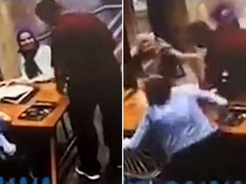 Pregnant woman violently attacked by stranger who launched at her in cafe