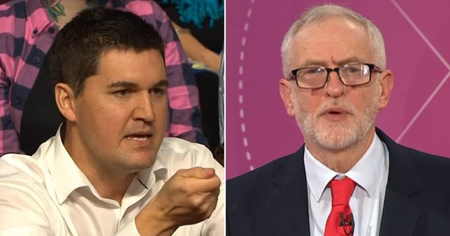 Jeremy Corbyn slammed for his 'nice old grandpa act' in Question Time face off
