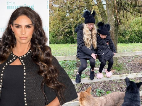 Katie Price pushes aside Emily Atack feud to enjoy day out with kids