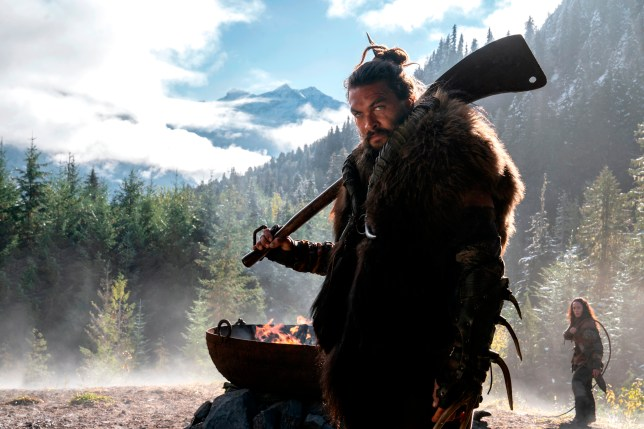 Who is in the cast of Apple TV Plus show See with Jason Momoa?