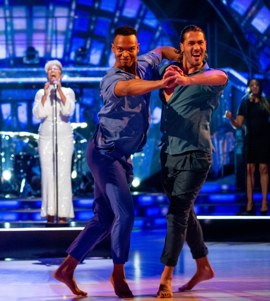 Strictly Come Dancing's Johannes and Graziano