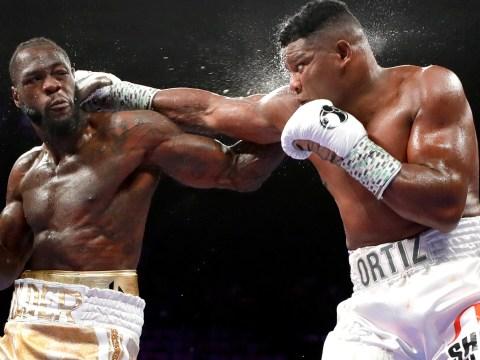 Deontay Wilder dismisses weakness claims from Tyson Fury's trainer Ben Davison
