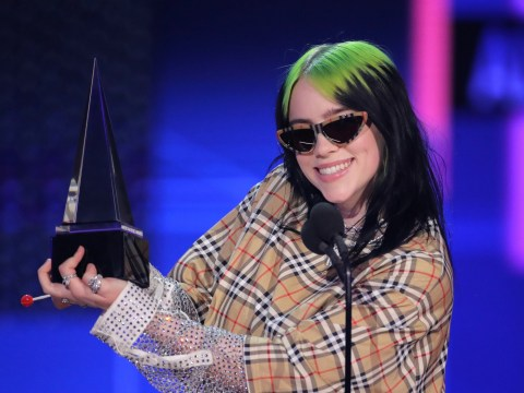 We must protect Billie Eilish at all costs as 'shaking' star accepts American Music Award