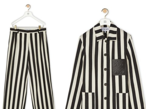 Fashion brand removes outfit after it is criticised for looking like concentration camp uniforms
