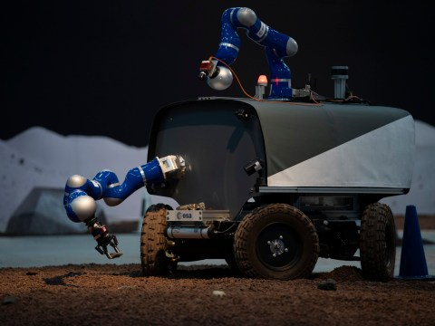 Astronaut successfully pilots Earth-bound lunar rover from space