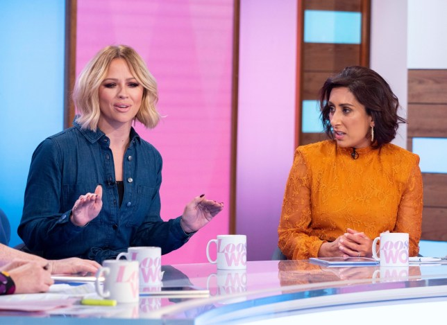 Kimberley Walsh on Loose Women