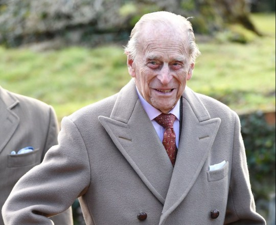 Mandatory Credit: Photo by Tim Rooke/REX/Shutterstock (9353167al) Prince Philip Queen Elizabeth II visit to St Peter and St Paul church, West Newton, UK - 04 Feb 2018