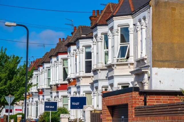 According to shelter, rents eat up on average, 41 per cent of incomes (Picture: Getty Images)