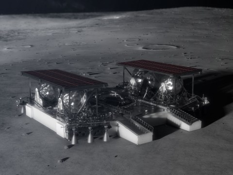 Nasa gives us a peek at its futuristic new moon lander