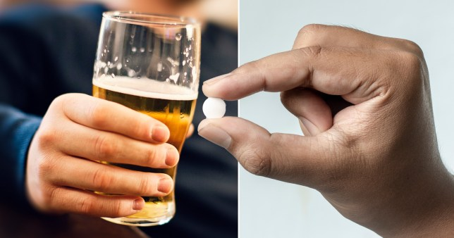 Research claims that ketamine could be used to help stop alcoholism (Getty)