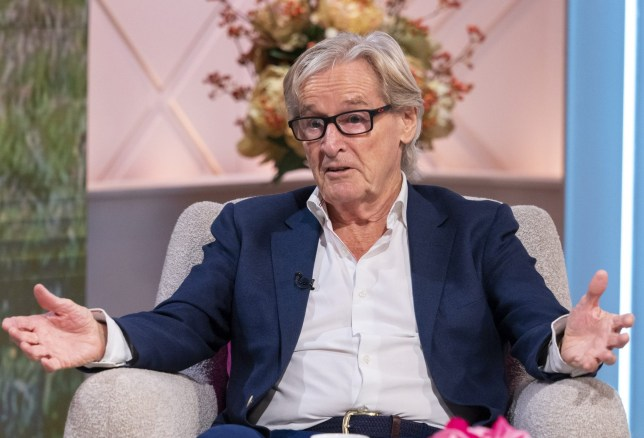 Editorial use only Mandatory Credit: Photo by Ken McKay/ITV/REX (10486228bi) William Roache 'Lorraine' TV show, London, UK - 27 Nov 2019 CORRIE'S WILLIAM ROACHE * Soap Stars don't come bigger than Corrie's Ken Barlow whose kept us gripped for almost 6 decades. Today, William Roache will be addressing those retirement rumours and revealing his secrets to staying youthful.