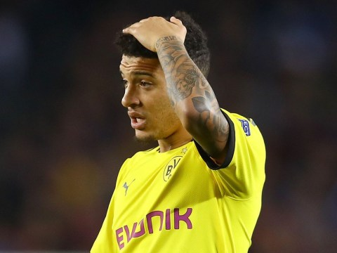 Dortmund coach criticises Jadon Sancho after defeat to Barcelona in the Champions League