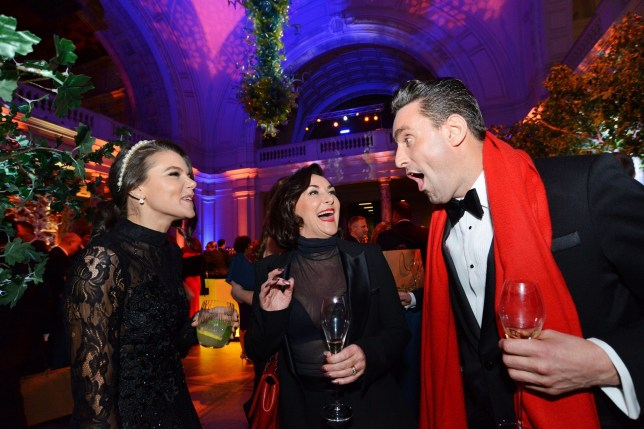 Pictured: Shirley Ballas (centre) with her partner Daniel Taylor and Faye Brookes Coronation street's Faye Brookes, who recently split with popstar Gareth Gates, turned up alone to a spectacular charity ball only two days after attending another red carpet event with her personal trainer. Faye Brookes, 32, arrived at the Macmillan Winter Ball wearing a stunning but understated black dress and posed for pictures with Strictly Judge Shirley Ballas. Two days ago Faye was spotted cuddling up to her personal trainer, Joe Davies, at an event in London. The former Corrie star split from Pop Idol's, Gareth Gates, three months Held in the luxurious surroundings of The V&A Museum, London, the Macmillan Winter Ball event is being hosted by comedian and impressionist Rory Bremner. SEE COPY FOR MORE DETAILS. ?? Solent News & Photo Agency UK +44 (0) 2380 458800