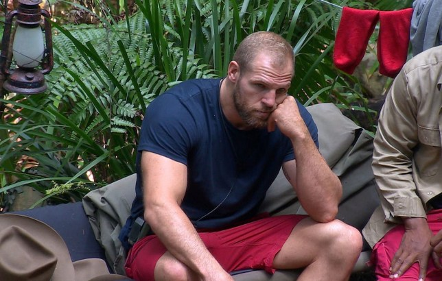 STRICT EMBARGO - NOT TO BE USED BEFORE 22:10 GMT, 20 Nov 2019 - EDITORIAL USE ONLY Mandatory Credit: Photo by ITV/REX (10488637gd) Pre-Trial - James Haskell 'I'm a Celebrity... Get Me Out of Here!' TV Show, Series 19, Australia - 30 Nov 2019