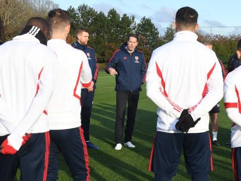 Josh Kroenke addresses Arsenal squad after sacking Unai Emery and sanctioning Freddie Ljungberg appointment