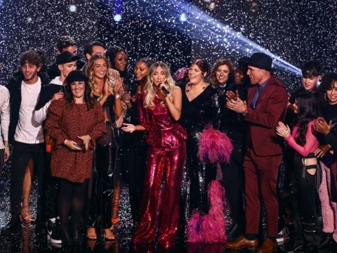 Who won the X Factor: Celebrity final last night?