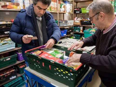 Food banks hand out record-breaking numbers of emergency parcels